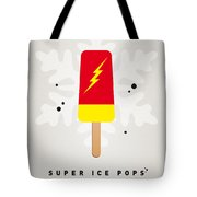 My Superhero Ice Pop - The Flash Tote Bag by Chungkong Art