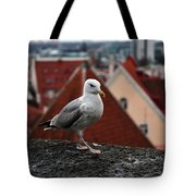 My Town My View Tote Bag