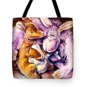 My Toys - Palette Knife Oil Painting On Canvas By Leonid Afremov Tote Bag