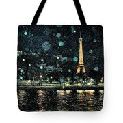 My Van Gogh Eiffel Tower Tote Bag