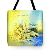 In My View This Is Beautiful, But It Is Also Extremely Cold  Tote Bag by Hilde Widerberg