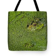 My Whole World Is Green Tote Bag