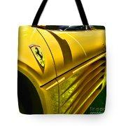 My Yellow Ferrari Tote Bag