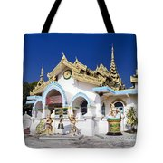 Myanmar Buddhist Temple Tote Bag