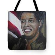 Myrlie Evers Tote Bag