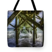 Myrtle Beach Pier Tote Bag