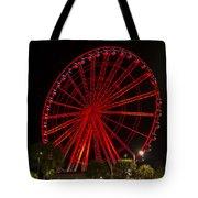 Myrtle Beach Sky Wheel Tote Bag
