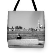 Myself And Venice Tote Bag