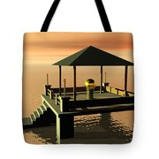 Mysterious Architecture Tote Bag