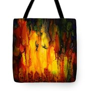Mysterious Cave Tote Bag