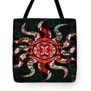 Mysterious Circumstances Abstract Sun Symbol Artwork Tote Bag