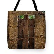 Mysterious Door Tote Bag