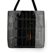 Mysterious Face In Cell Tote Bag