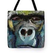 Mysterious Gorilla  Tote Bag