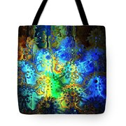 Mysterious Icons Tote Bag