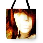 Mysterious Lady Tote Bag