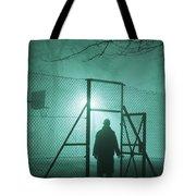 Mysterious Man At Night Tote Bag