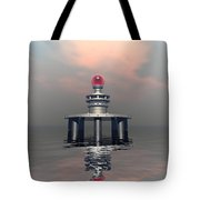 Mysterious Metallic Structure Tote Bag