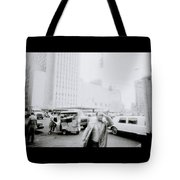 Mysterious New York Tote Bag