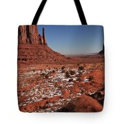 Mysterious Red Rocks Tote Bag
