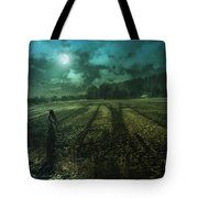 Mysterious Shadows Tote Bag
