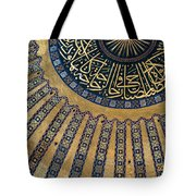 Mysterious Sunlight In Hagia Sophia Tote Bag