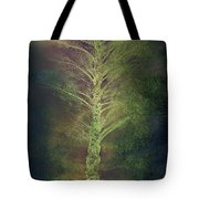 Mysterious Tree In Moonlight Tote Bag