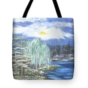 Mysterious  Trees Tote Bag