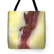 Mysterious Woman Tote Bag