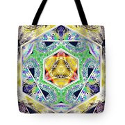 Mystery Cube Tote Bag