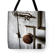 Mystery Door Tote Bag