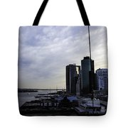 Mystery Of The Missing P Aka Pier 17 Tote Bag