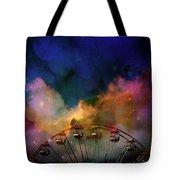 Take A Mystery Ride In The Multicolored Clouds Tote Bag