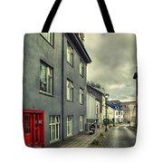 Mystery Street Tote Bag