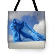 Mystic Blue 9 Tote Bag