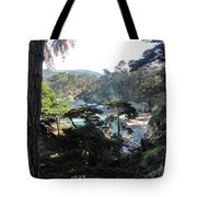 Mystic Bridge Tote Bag