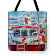 Mystic Fireboat Tote Bag