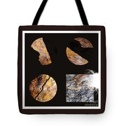 Mystic Fractures II Tote Bag