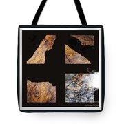 Mystic Fractures L Tote Bag