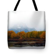 Mystic Grand Teton  Tote Bag