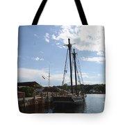 Mystic Harbor - Ct Tote Bag