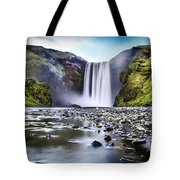 Mystic Iceland Tote Bag