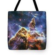 Mystic Mountain Tote Bag by Adam Romanowicz