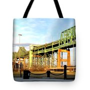 Mystic River Bridge  Tote Bag