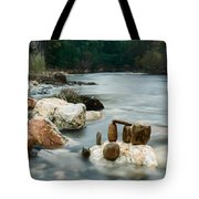 Mystic River I Tote Bag