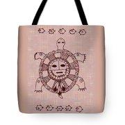Mystic Turtle Tote Bag