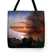 Mystic Ufo Tote Bag