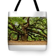 Mystical Angel Oak Tree Tote Bag