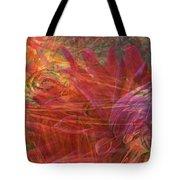 Mystical Dahlia Tote Bag