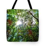 Mystical Forest Sky Tote Bag